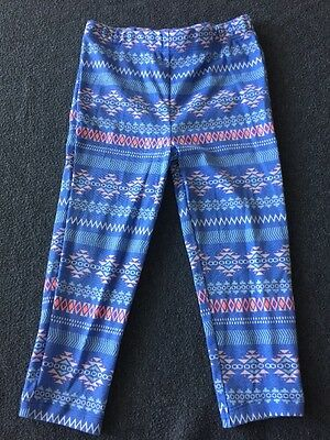 NWT Carter's Baby Girl Multicolor Cotton Leggings Pants Size 24 Months