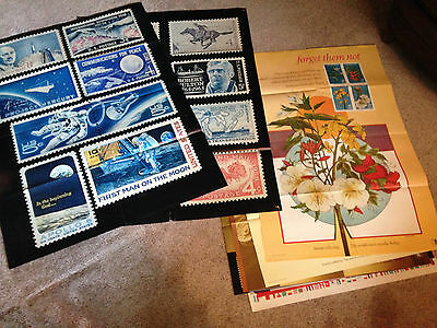 Post Office Stamp Poster Lot of 14 Large Posters