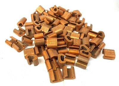Burndy, Copper, Compression Tap Connector, Yc4C6, Bg Or 5/8, Lot Of 79