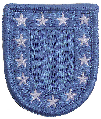 US Army USAR Military Mil Spec Blue Star Flash Soldier Beret Hat Patch USA MADE