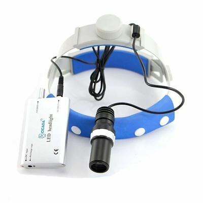 USPS LED Headlight With Composite Filter For Dental Loupes Binocular Magnifier