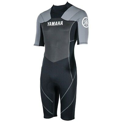 Yamaha Shorty Wetsuit Mens X-Large Gray Mar-15Nst-Gy-Xl