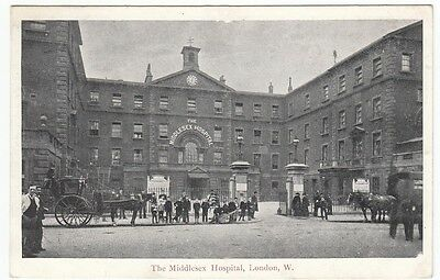 PPC: Main Entrance, The Middlesex Hospital