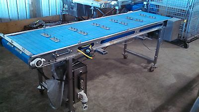 BLUE BELT CONVEYOR (Item7218)