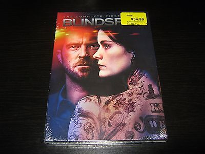 Blindspot: The Complete First Season (DVD, 2016, 5-Disc Set) New Sealed