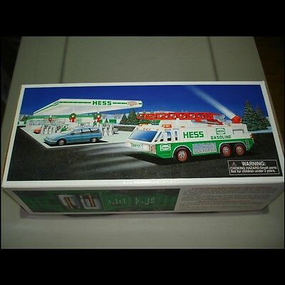 1996 HESS Emergency Truck - New In Box unopened collectible toys Gasoline