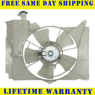 Radiator And Condenser Fan For Toyota Echo Scion xA TO3115119