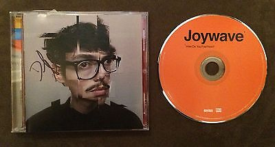 *SIGNED* Joywave How Do You Feel Now CD RARE Big Data The xx Twenty One Pilots
