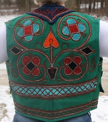 Afghanistan Embroided Vest Never Worn 1978 Hippie