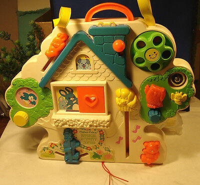 Fisher-Price Musical Activity Centre #1100 -- Absolute Best Busy-box VHTF  Nice1