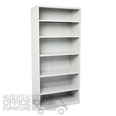Rapidline Go Steel Open Bay Shelving Unit Office Furniture