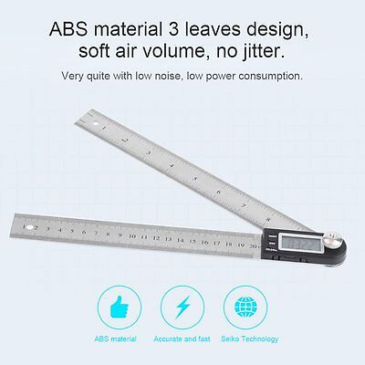 """11"""" Inch IElectronic LCD Digital Protractor Goniometer Angle Finder Miter Gauge"""