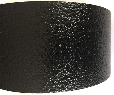PSP Safety Tread Rolls 50mm x 5 Metres Black Non Slip Dimple Texture Marine Use