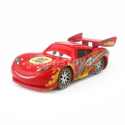 Mattel Disney Pixar Cars Dragon Lightning McQueen With Oil Stains 1:55 Loose New