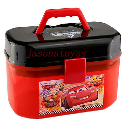 Disney Car Lightning McQueen Suitcase Storage Box Loose New In Stock