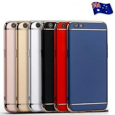 3in1 Electroplating Stylish Protective Back Case Cover For Oppo F1S A1601 A59
