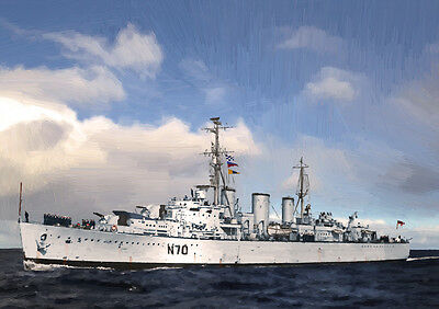 Hms Manxman - Hand Finished, Limited Edition (25)