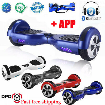 Swegway Self Balancing Balance Board Scooter Electric 2 Wheel Bluetooth+ Remote