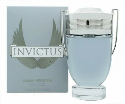 Paco Rabanne Invictus Eau De Toilette 150Ml Spray - Men's For Him. New
