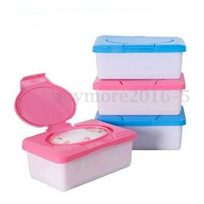 Wet Tissue Paper Case Baby Wipes Storage Box Holder Container Houseware