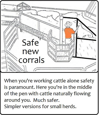 The Latest Designs for One-Man Cattle Corrals + 80 Ideas to Reduce Costs & Labor