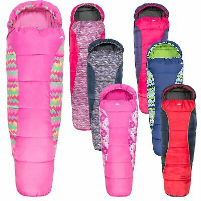 Trespass Bunka Lightweight  Kids Sleepover Camping Sleeping Bag