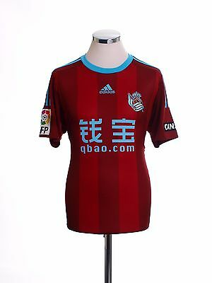 2015-16 Real Sociedad adidas Away Football Soccer Shirt Top *BNIB* S-M-L-XL-XXL