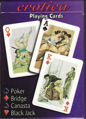 Playing cards: Erotica