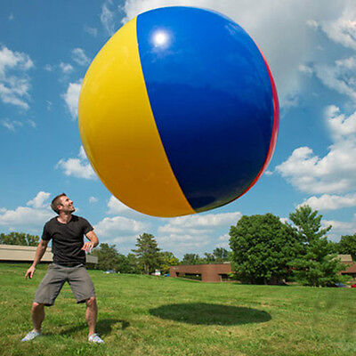 Inflatable Large Beach Pool Ball Play Party Toy 2m Fun Beachball Balls Six Color