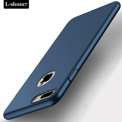 Ultra Thin Shockproof 360° Matte Hard Back Case Cover For iPhone SE 6S 7 8 Plus