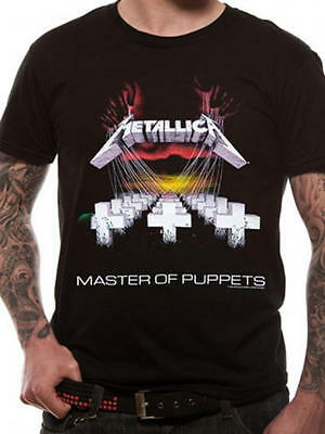 "New,sealed And Official Metallica ""master Of Puppets"" Black Unisex T-Shirt"