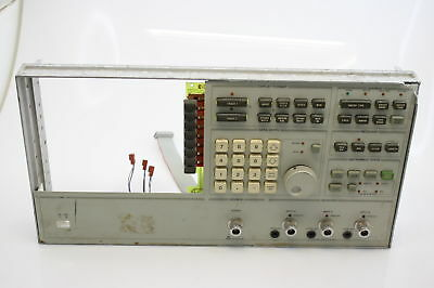 HP 3577A Network Analyzer Front Panel Module TESTED WORKING