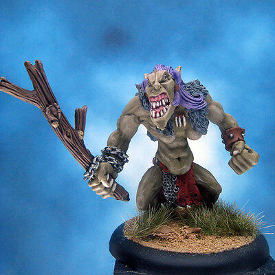Painted Chainmail Miniature Troll