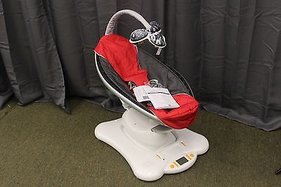 4Moms Mamaroo Infant Seat, Red - USED