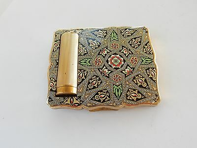 Vintage Stratton Celtic Mirror Powder & Lipstick Compact