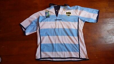 Maillot de rugby Argentine World Cup 2003 Topper T M