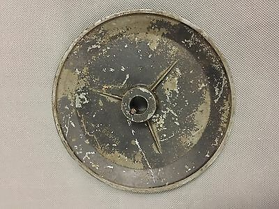 Used V BELT PULLY 6 inch OD 5/8 BORE ALLOY VERY GOOD CONDITION
