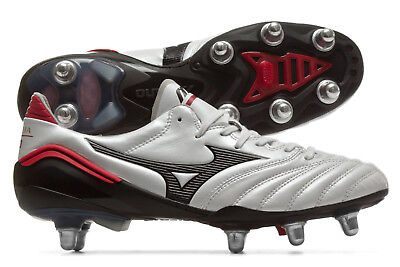 Mizuno Mens Morelia Neo II SI SG Rugby Boots Shoes Footwear Sports Training