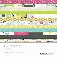 Kaisercraft  6.5in, Paper Pad, Happy Snaps, Design paper, 2x12 sheets Designe...