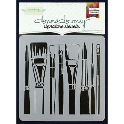 NEW Donna Downey Signature Series Stencils - Brushes, DD073
