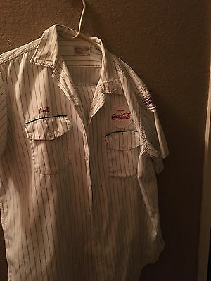1950's RARE COCA COLA COKE UNIFORM MATCHING SHIRT,PANTS  !!!!!!!