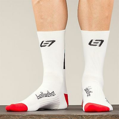 Bellwether Victory Socks - L/XL - White