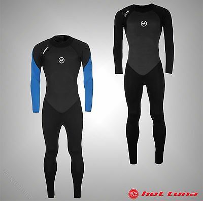 Mens Branded Hot Tuna Stylish Long Sleeves Water Sports Full Wetsuit Size S-XXXL