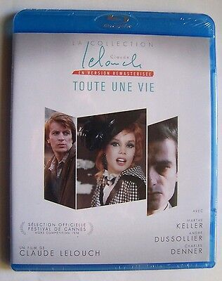 Toute Une Vie - Claude Lelouch - Blu-Ray Neuf Et Emballe -