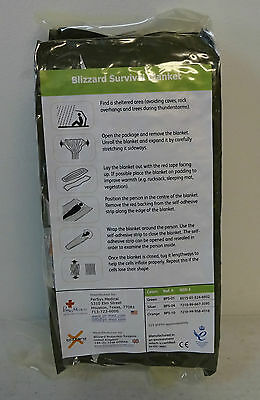 Blizzard Survival Blanket New In Package