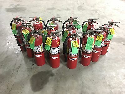 Set of 14 FIRE EXTINGUISHER 10lb #10 NEW CERT TAG  (Nice)