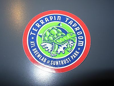 TERRAPIN Athens Georgia Taproom LOGO STICKER decal craft beer brewing brewery