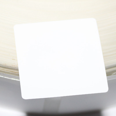 10 30x30mm White PVC NFC Sticker NTAG215 Samsung TagMo Sony LG Android