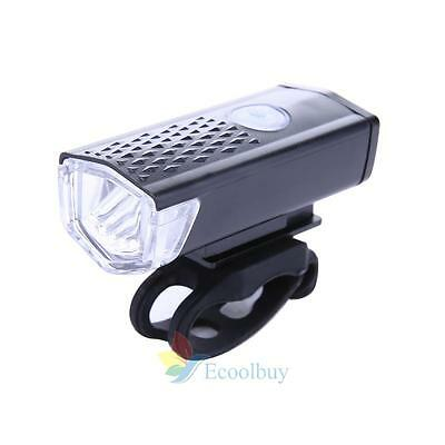 300LM  LED Rechargeable Bycicle Light Headlamp Headlight Bike Lamp Torch A