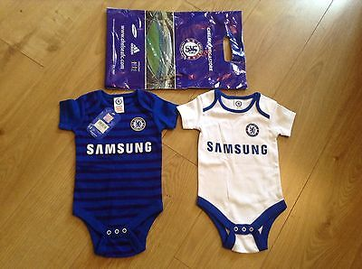 Baby Chelsea Vests 9-12 Months * New *